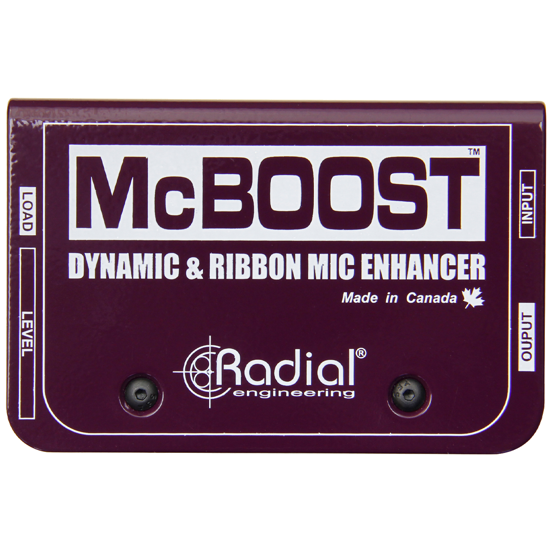 Radial McBoost Dynamic & Ribbon Mic Enhancer